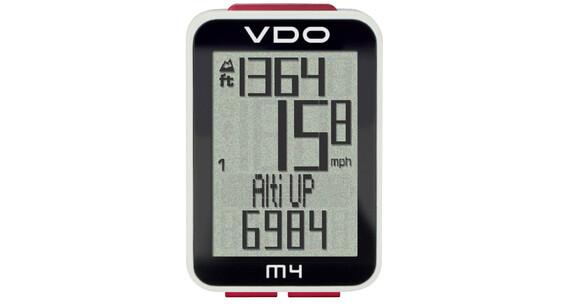 VDO M4 WL Cykelcomputer digital sort